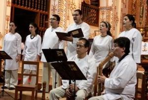 La Capilla del Valle de la Asunción  interpretó música  escrita hace más de 400 años por  compositores guatemaltecos  y de América