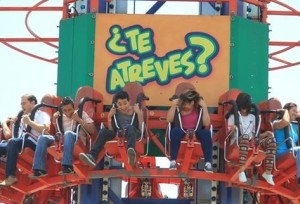 La diversión está garantizada en los parques del Irtra. (Foto Prensa Libre: Estuardo Paredes)