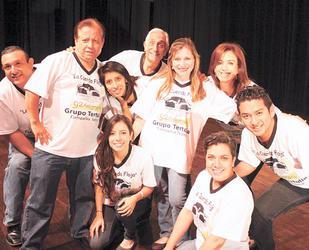 El grupo Tertulia es uno de los participantes en este festival teatral universitario. Foto cortesía Luis López/s21