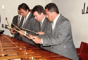 En 1955, la marimba se declaró símbolo patrio. (Foto Prensa Libre: Hemeroteca PL)