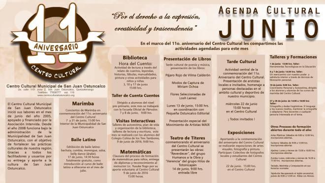 agenda junio ost