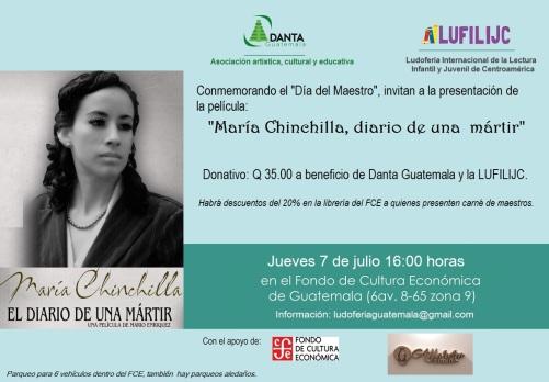 7 julio Pelicula María Chinchilla