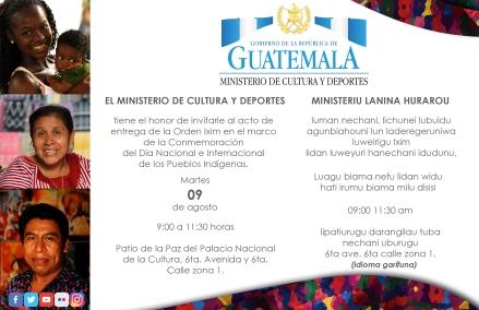 9 agosto invitacion