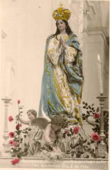 Resultado de imagen para El Rezado de Concepción de San Francisco. 8 de diciembre de 1840