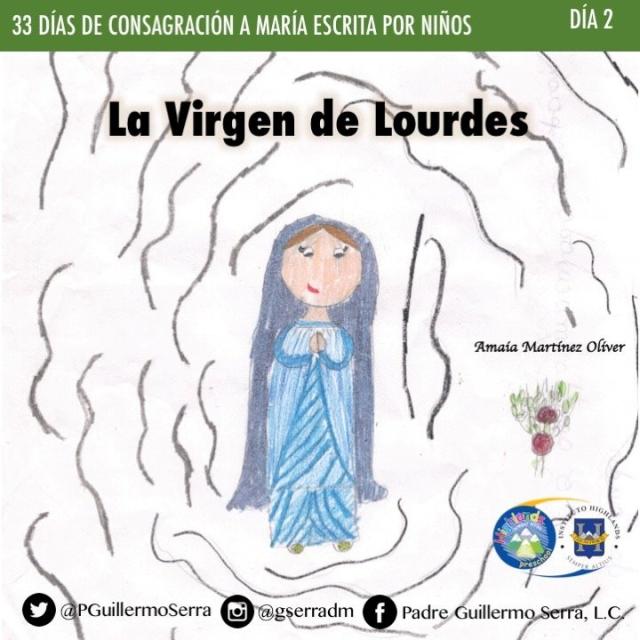 33 Días De Consagración A María Escrita Por Niños Día2 Culturales De Maco